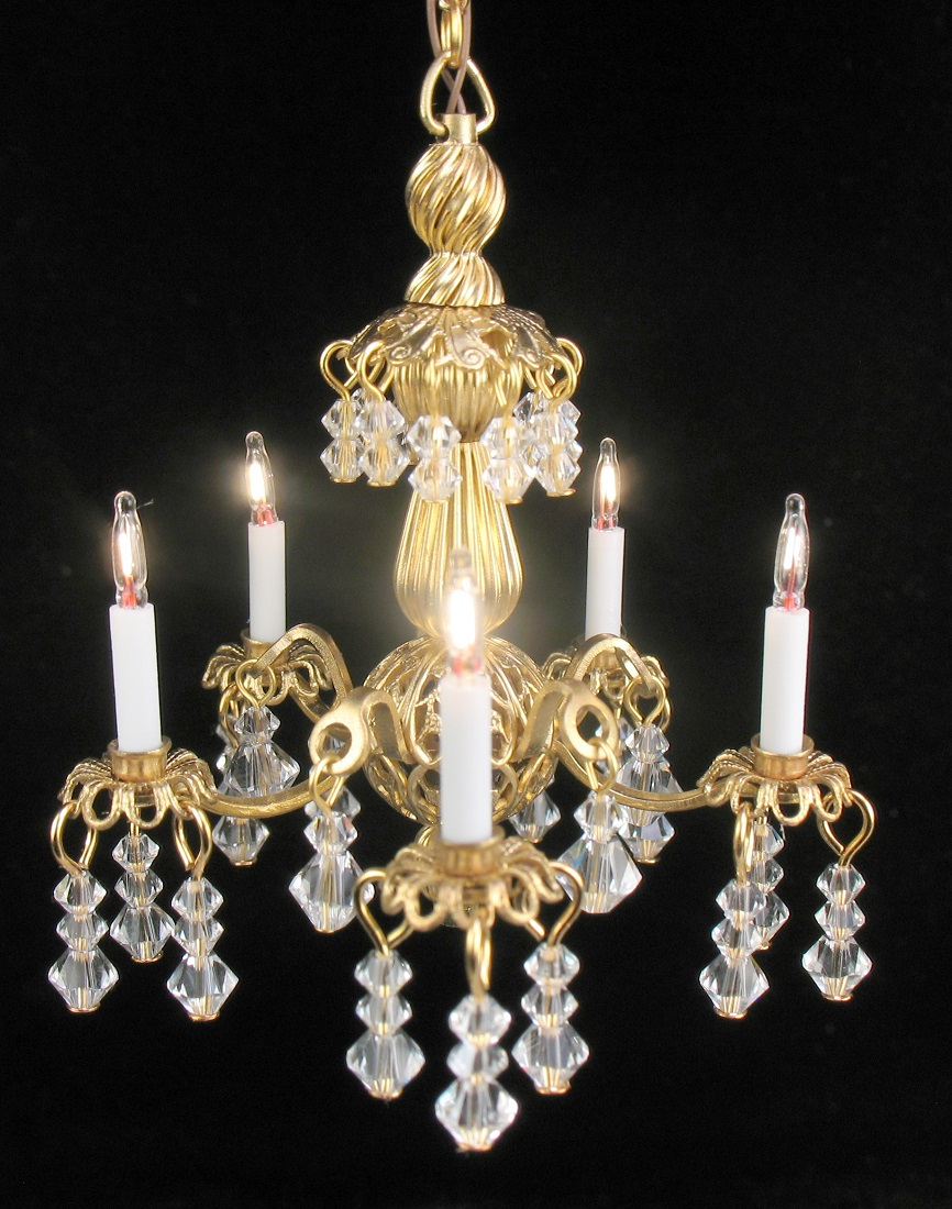 Dollhouse miniature crystal chandeliers musethecollective welcome to jgetzan miniatures arubaitofo Image collections