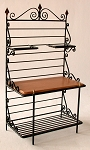 Baker's Rack with 2 upper shelves 180
