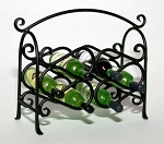 Wrought Iron Wine Rack 119-WR