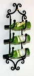 Wrought Iron Wine Rack 122-WR