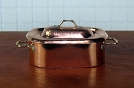 Copper Dutch Oven with hammered lid  523