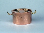 Hammered Copper Casserole 506