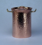 Hammered Copper Soup Pot 508
