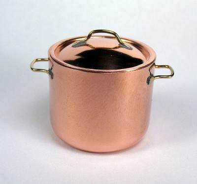 Copper Large Stock Pot 525