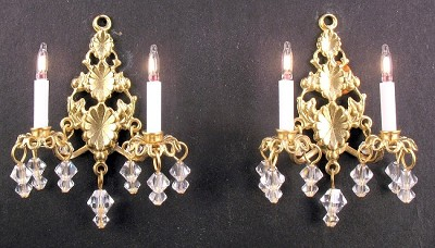 Princess Abigail Sconces 2001
